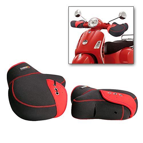 Coprimanopole Scooter Guanti Manubrio Invernali Moto per Uomo Donna Muffole Moto Universali...