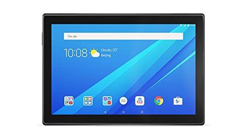 "Lenovo TAB4 10 LTE - Tablet de 10.1"" (Qualcomm Snapdragon 425, 2 GB de RAM, 16 GB de eMCP, camara de 5 MP, Qualcomm Adreno 308 GPU, Android 7.1.1 + Bluetooth 4.0), negro"