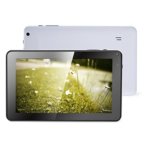 Haehne 9 Pollici Tablet PC - Google Android 4.4 Kitkat, Quad Core Multi-Point Capacitivo, TFT LCD...