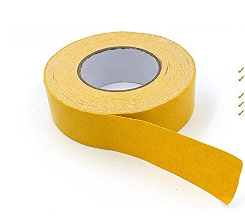 Resistente nastro biadesivo Gripper–Tappeto tape, anti-skid nastro adesivo per area tappeti,...