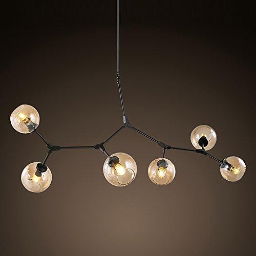 SSBY Moderno e minimalista e lampadari di vetro scandinavo personalizzato di fagioli magici...