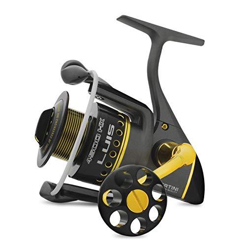 Ryobi Tubertini Mulinello da Pesca Luis 4500 con Frizione Anteriore Precisa e Potente da Spinning Bolognese Feeder Fondo Mare Trota Lago Leggero e Affidabile