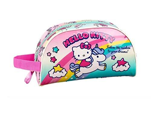 Hello Kitty Candy Unicorns - Beauty case adattabile al trolley