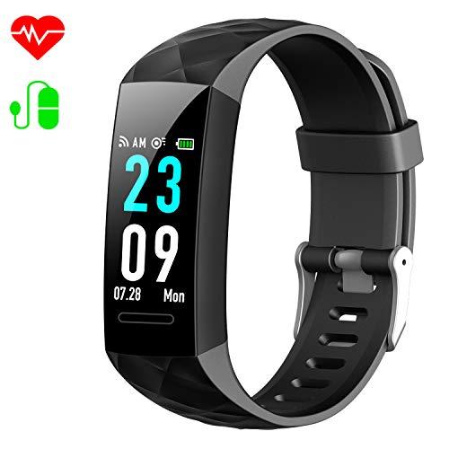 HETP Fitness Tracker, Orologio Controllo Pressione Sanguigna Cardiofrequenzimetro da Polso...