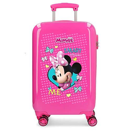 Disney Happy Helpers Valigia per bambini, 55 cm, 33 liters, Rosa