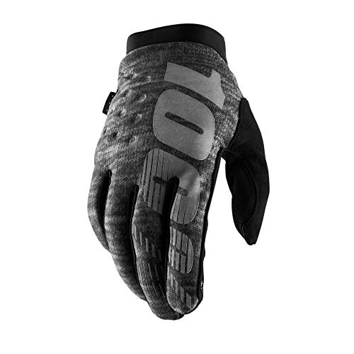 100% Prozent Brisker Handschuhe Soft Shell MTB DH MX Motocross Enduro Offroad Quad, 10016-0, Farbe...