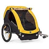 Burley Unisex MY16 Bee 2-Seater Bike, Yellow