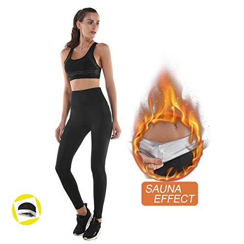 NHEIMA Pantaloni Dimagrante Donna Sportive Vita Alta, Leggings Anticellulite Donna Fitness,...