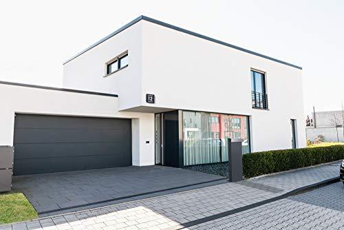 Frabox® Design Standbriefkasten NAMUR anthrazitgrau RAL 7016 / Edelstahl - Made in Germany! - 5