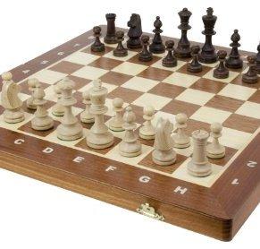 Wegiel 042 - Ajedrez Tournament No 5 para Competición con Piezas, 48 x 44 x 5 cm