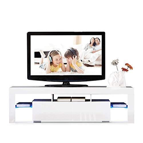 Meja Mobiletto TV Bianco
