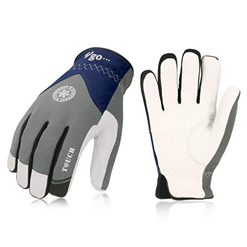 Vgo, circa 0℃, l'interno di 3M Thinsulate C40, guanti invernali, guanti da lavoro uomo, guanti in...