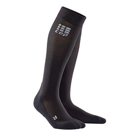 CEP - Socks for Recovery, Socken zur Regeneration, lang für Herren, Sportsocken Made by medi, III, Black