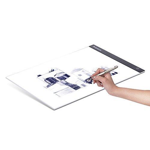 Aibecy Portable A3 LED Light Box Disegno Tracing Tracer Copy Board Pannello da tavolo Copyboard con...