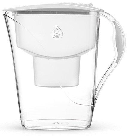 Dafi Luna Classic 3.3L water filter jug with cartridges bundle (white) (1 month of Dafi Classic) (1 cartridge)