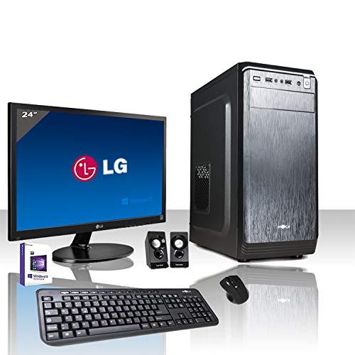 PC DESKTOP INTEL QUAD CORE LICENZA WINDOWS 10 PROFESSIONAL ORIGINALE/WIFI/HD 1TB SATA III/RAM 8GB...