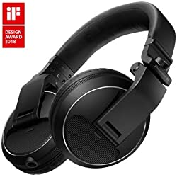 Pioneer Dj hdj-x5-k profesional DJ auriculares, negro
