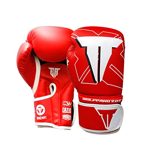 TTXLY PRO Style Boxing Guanti da Allenamento 8 Once 12 oz Adult Muay Thai Training High-End in Pelle...