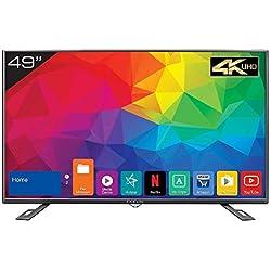 Kevin 124.5 cm (49 Inches) 4K UHD LED Smart TV KN49UHD (Black)