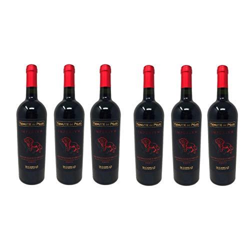 6 Bottiglie di Tenuta del Pojo Imperivm Montepulciano D'Abruzzo D.O.P Riserva