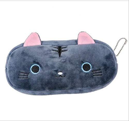 Simpatico astuccio portamatite per gatti Kawaii Borsa per matite in peluche Borsa per matite per...