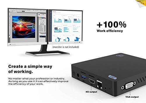 Beelink Z83-V Mini PC Support Windows 10, Intel Atom x5-Z8350 Processor 4GB Ram 64GB Rom Graphics HD...