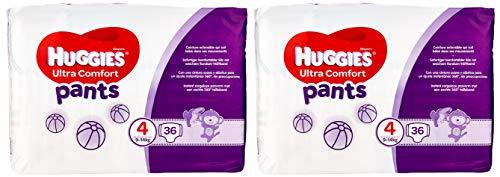 Huggies pannolini Ultra Comfort Pants Taglia 4mese Box, 1er Pack (1X 72pezzi)