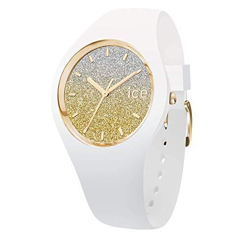 Ice-Watch - ICE lo White gold - Orologio bianco da Donna con Cinturino in silicone - 013432 (Medium)