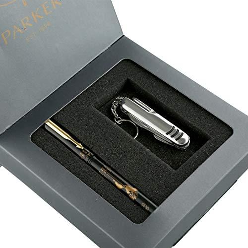 Parker Beta Millenium GT Ball Point Pen Gift Set - With Swiss Knife