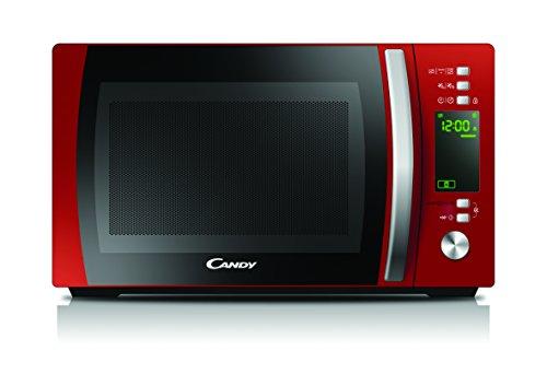 Candy CMXG20DR Microonde con grill e app Cook-in, 20 litri, colore Rosso