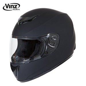 Vinz Integralhelm/Rollerhelm Basic | Motorradhelm in Gr. XS-XL | Integral Helm mit Visier 1