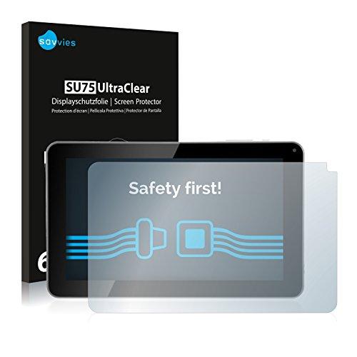 Savvies Pellicola Protettiva Compatibile con Kliver Klipad 9' Medium (2014) Protezione Schermo [6 Pezzi]