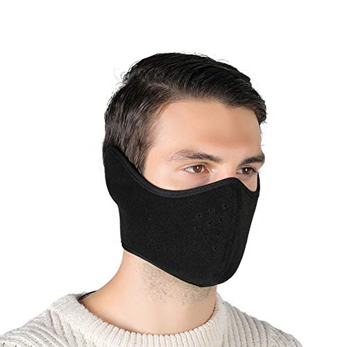 ANBET Mezza maschera invernale Scalda viso a prova di freddo, antivento, antipolvere,...