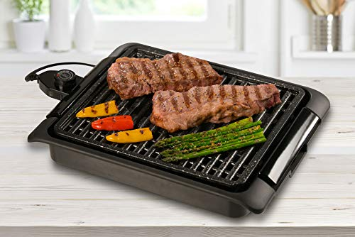 BEST DIRECT Starlyf Smokefree Grill Griglia No Fumo Carne E Verdure Grigliate Cucina Barbecue...