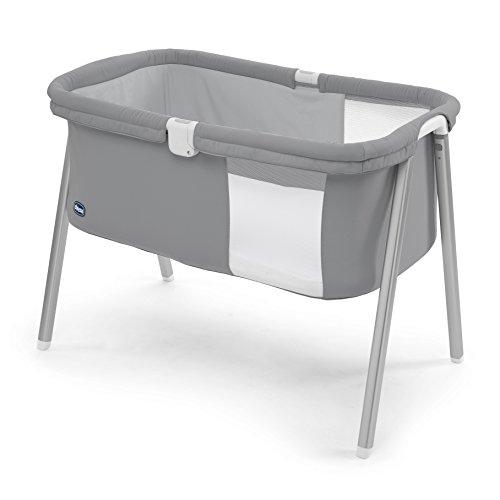 Chicco Lullago - Cuna ultraligera y compacta, 7 kg, color gris