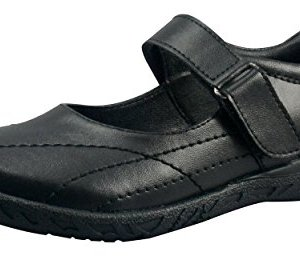 BOBBLEKIDS, Black Synthetic-Leather Shoes, Mary Jane, Brice Little Kid Girls 41k64V4W WL