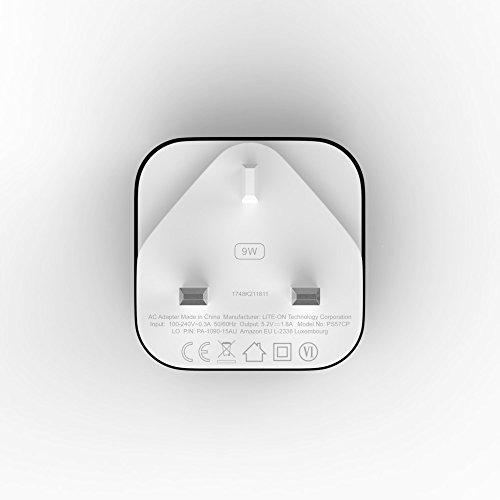 Amazon 9W PowerFast Original OEM USB Charger and Power Adaptor for Kindle E-readers, Fire Tablets and Echo Dot 4  Amazon 9W PowerFast Original OEM USB Charger and Power Adaptor for Kindle E-readers, Fire Tablets and Echo Dot 41k7kT5TtEL
