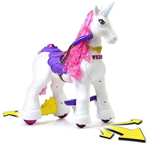 FEBER- My Loved Unicorn, Giocattolo, Colore Bianco/Viola/Rosa