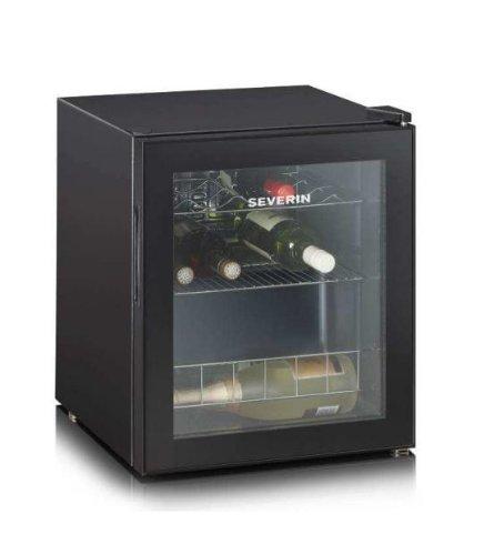 Severin KS 9889 Cantinetta, 15 Bottiglie 0,75 l, Classe Energetica'A', Regolazione Temperature da 4...