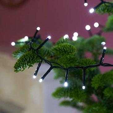 Guirlande Lumineuse Sapin de Noël 10 Mètres – Couleur Au Choix