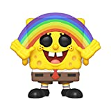 Funko- Pop Vinyl Squarepants S3: Spongebob (Rainbow) Figura da Collezione, Multicolore, 39552