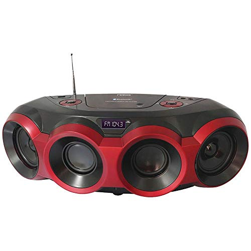 Naxa Npb-266 Mp3/Cd Party Bluetooth(R) Boom Box Electronic Consumer