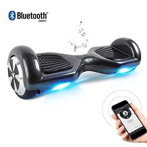 BEBK Hoverboard 6.5' Smart Monopattino Elettrico Autobilanciato con 2 * 250W Motore,Self Balance...