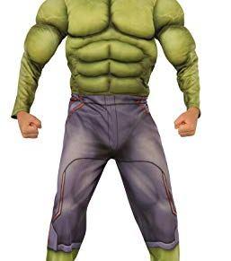 Rubies Rubie's - Disfraz para niño, diseño Hulk de Marvel, talla M 610429-M