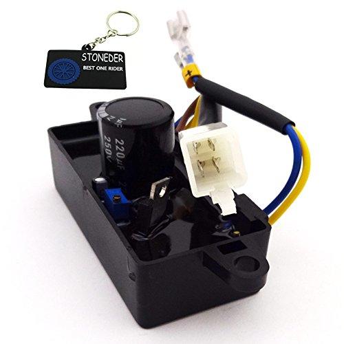 AVR regulador de voltaje rectificador monofásico stoneder para chino Gas Gasolina Generador de gasolina 2KW 2.2kW 2,5kW 2,8kW 3kW