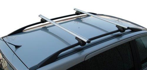 Menabo BRIO - Barre da tetto per auto con railing aperti, 120 cm