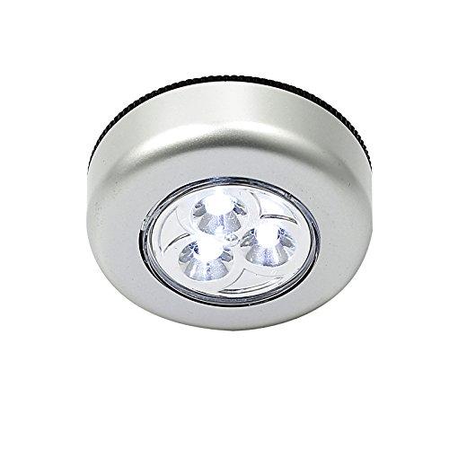 Justech 10 X Lampe De Nuit Eclairage Armoire Lampe Led Sous Meuble