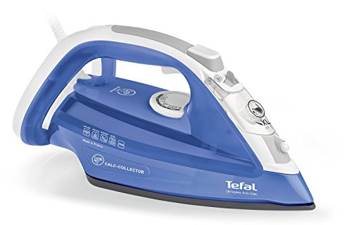 Tefal FV4944 Ultragliss anticalcare - Ferro a vapore - Raccoglitore di calcare - Piastra con...