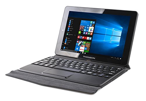 Thomson Tablette détachable 2en1 HERO9-1.32B - 8,9' Noir - Windows 10 Home - Processeur Intel Atom - 2 Go de RAM- 32 Go de stockage