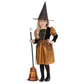 WIDMANN 0019S - Traje Niño pequeña bruja, sombrero, tamaño 116, multicolor , color/modelo surtido
